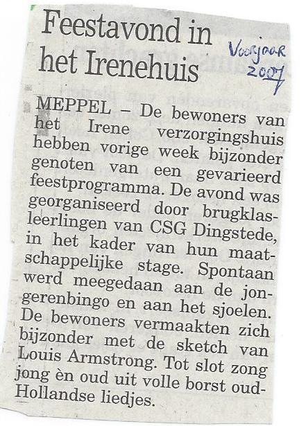 04-2007 Feestavond Irenehuis