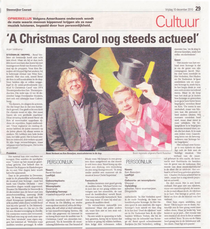 10-12-2010 Artikel Steenwijker Courant